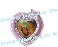 Рамка для фотографии Сердце в стиле Прованс 16х15 см