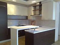 П-образная кухня с барной стойкой, фото 1