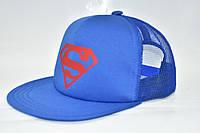 """Кепка  """"Супермен""""  прямой козырек, фото 1"""
