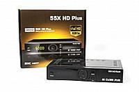 Тюнер DVB-S/S2 55X HD Plus Black (спутниковый ресивер HD)