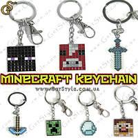 "Брелки Minecraft - ""Minecraft Keychain"" - 1 шт."