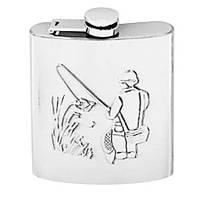Набор сувенирный мужской Чеканка Рыбалка 10см (Арт. 11089)