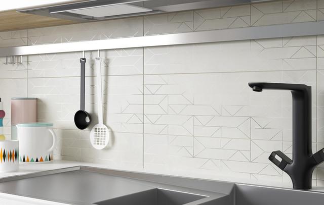 Плитка для кухні Paradyz Segura 20х60.Пастельние тони і структура