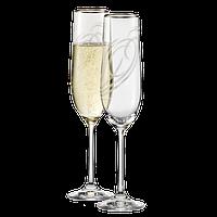 Бокалы для шампанского Bohemia Motion  2шт. Чехия