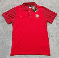 Поло футболка Португалия красная