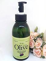 Мыло туалетное с натуральным оливковым маслом 500 мл