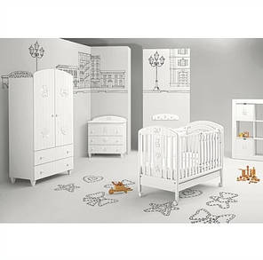 Комплект мебели для детской комнаты MIBB Blanche Lumier, фото 2