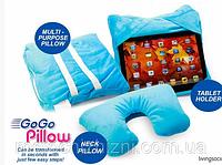 Подушка Go Go Pillow 3в1 - подушка-держатель для планшета Гоу Гоу Пиллоу