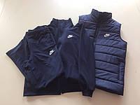 Мужской спортивный костюм+спортивная жилетка