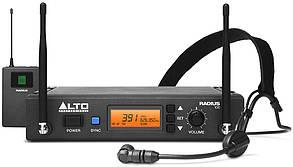 Радиосистема c головной гарнитурой и напоясным передатчиком ALTO PROFESSIONAL RADIUS100H