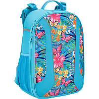 Рюкзак школьный каркасный Kite Tropical flower (K17-730M-2)