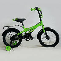 Детский двухколесный велосипед Stels Pilot-130 18 дюймов ЗЕЛЕНЫЙ