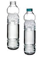 Бутылка Basic 1,1л стекло с пластиковой крышкой и силиконовым уплотнителем