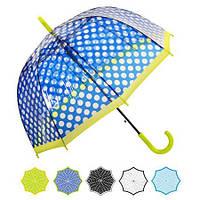 Зонт трость 60 см цвета в ассортименте (Арт. 05652)