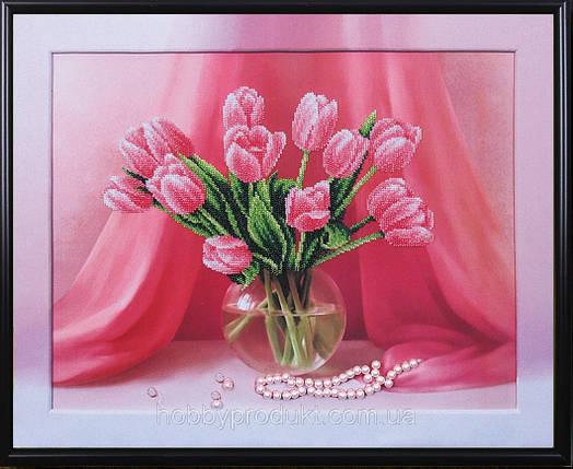 """Набор для вышивания бисером """"Настроение. Тюльпаны"""", фото 2"""