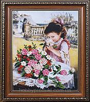 """Набор для вышивания бисером """"Маленькая леди"""", фото 1"""