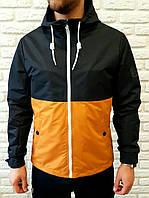 Мужская куртка Riccardo cиний-горчица