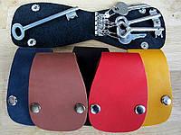 Чехол Блокнот для ключей из натуральной кожи, фото 1
