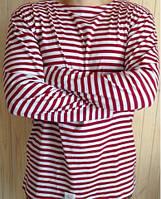 Тельняшка с длинным рукавом (хлопчатобумажное  полотно.)  44-60