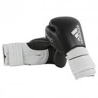 Боксерские перчатки ADIDAS Hybrid 300 (черный/белый)
