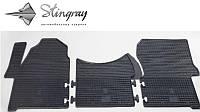 Комплект резиновых ковриков Stingray для автомобиля  Volkswagen Crafter 2006-   3шт.