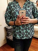 Стильная летняя блузка, M,L,XL р-ры, 240/210 (цена за 1 шт. + 30 гр.)