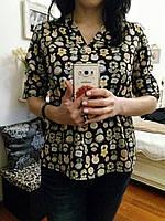 Легкая молодежная блуза, M,L,XL р-ры, 240/210 (цена за 1 шт. + 30 гр.)