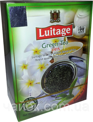 Чай Луитаж LUITAGE Зеленый OPA 100 гр