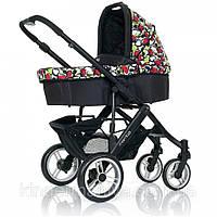 Универсальная коляска 2 в 1 ABC Design Mamba Amore Nero Limited Edition