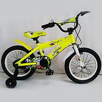 Детский двухколесный велосипед N-300 ,16 дюймов, желтый, фото 1
