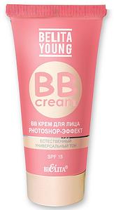 """BB крем для лица """"Photoshop-Эффект"""" Belita Young 30 мл"""