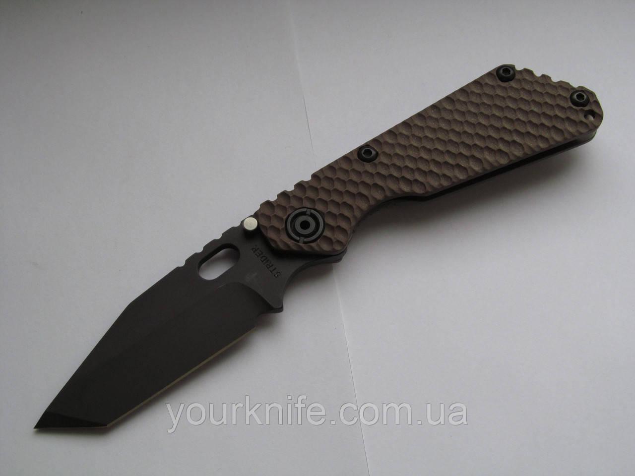 Купить нож Strider SnG GG Tanto Coyote/Black