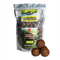 Бойлы растворимые CarpZone Soluble EuroBase Ready-Made Boilies Liver Extract  & Black Pepper 24mm