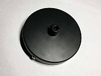 AMP основание круг 100 мм. металл (black )