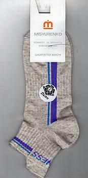 Носки женские демисезонные лён Sport Мисюренко, 11В211КЛ, укороченные, 23 размер, 1643