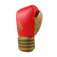 Боксерские перчатки ADIDAS Hybrid 200 (красный/золотой)