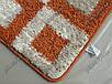 Набор ковриков для ванной с высоким ворсом 60х50 см/60х100 см, фото 6