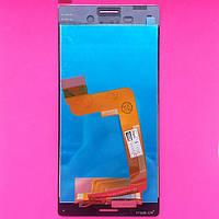 Дисплей для Sony E2312 Xperia M4 Aqua Dual черный с тачскрином