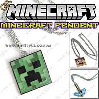 "Подвеска на шею Minecraft - ""Minecraft Pendent"" - 1 шт, фото 1"