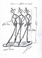 Цветочница-балерины