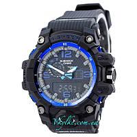 Спортивные часы Casio G-Shock GWG-1000  черные с синим