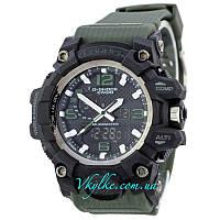 Спортивные часы Casio G-Shock GWG-1000  зеленые