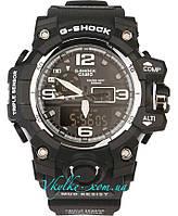 Спортивные часы Casio G-Shock GWG-1000  черные с белым, фото 1