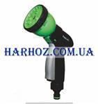 Пистолет поливочный Presto №2048N (Престо) 8 режимов + вк./выкл воды
