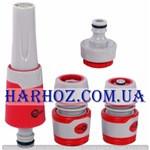 Насадка для полива с регулировкой потока воды Intertool (Интертул) GE-0029