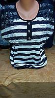 Нарядная блуза батал
