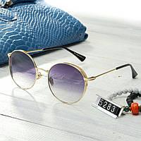 Женские брендовые очки копия Диор капли круглые, фото 1