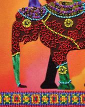 """Набор для вышивания бисером """"Африканские мотивы - 3"""", фото 2"""