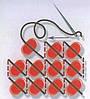 """Рисунок на ткани для вышивания бисером """"Сакура"""" триптих, фото 2"""