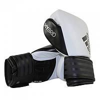 Боксерские перчатки ADIDAS Hybrid 200 (белый/черный)